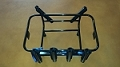 Jetski Fishing Yeti 45 Rack 6 Rod Holders Rotopax Gas Bracket Black