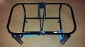 Jetski Fishing Rack 2 Fishing Rod Holders Black