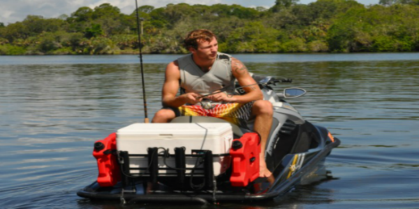 Jet ski fishing jet ski fishing equipment kool pwc stuff for Jet ski fishing accessories