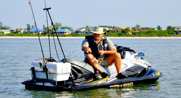 Jetski fishing racks jet ski accessories kool pwc stuff for Jet ski fishing accessories