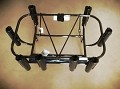 Jetski Fishing Rack 8 Welded Rod Holders Black