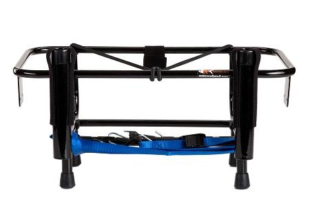 Jetski fishing rack with 2 rod holders kool pwc stuff for Jetski fishing rack