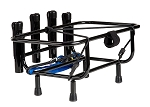 Jet Ski Fishing Rack 4 Rod Holders  (NO Rotopax Gas Plates)