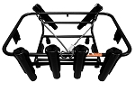JET SKI FISHING RACK - 6 ROD HOLDER - SEA-DOO'S LINQ SYSTEM