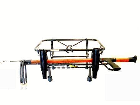 Spearfishing jet ski spearfishing rack kool pwc stuff for Jetski fishing rack