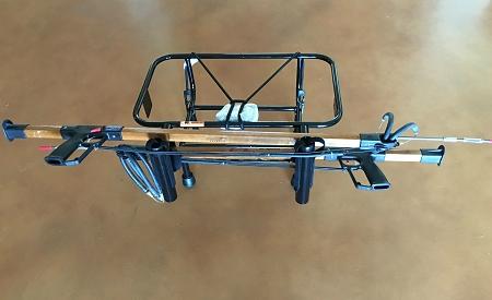 Spearfishing jet ski spearfishing rack kool pwc stuff for Jet ski fishing rack