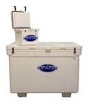 Icey -Tek  1100 Quart Cooler With Runners