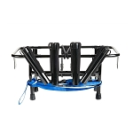 Jet Ski Fishing Rack 4 Rod Holders with Gas Plates for Rotopax Fuel Cans