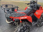 ATV COOLER RACK MADE FOR CAN AM AND BRP LinQ SYSTEM