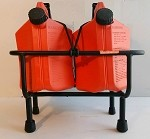 JET SKI FUEL RACK WITH TWO 5 GALLON SureCan GAS CANS - Model 6923
