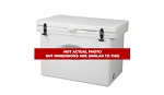 Icey -Tek 600 Quart Cooler With Runners