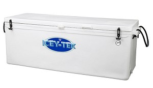 Icey -Tek 270 Quart Long split lid Cooler